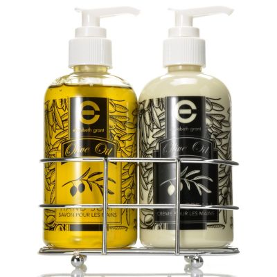 305-201 - Elizabeth Grant Olive Oil Hand Cream & Soap Duo