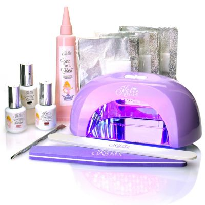 305-275 - #HollywoodTrends™ Color Flash Nine-Piece 60-Second Gel Nail Color LED System by Katie Cazorla