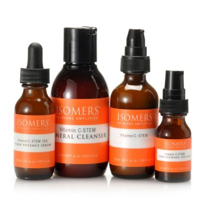 305-323 - ISOMERS® Four-Piece Vitamin C-STEM Essential Wrinkle Solution Kit