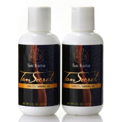 305-332 - Toni Brattin® Tan Secret® Sunless Tanning Gel Duo 5 oz Each