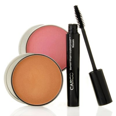 305-357 - CARGO Cosmetics Three-Piece Water-Resistant Bronzer, Blush & Mascara Collection