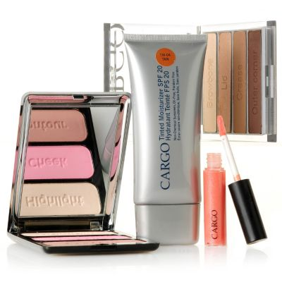 305-359 - CARGO Cosmetics Four-Piece Eyes, Lips & Cheeks Discovery Kit