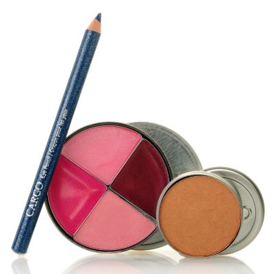 305-361 - CARGO Cosmetics Three-Piece Lip Gloss, Bronzer & Eye Pencil Travelers Kit