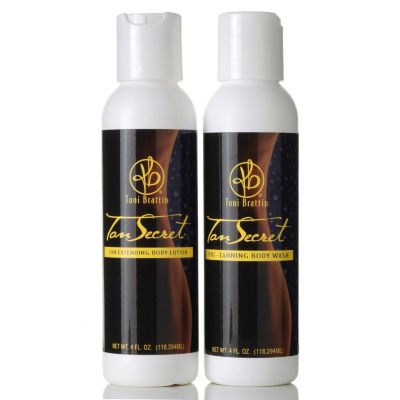 305-376 - Toni Brattin® Tan Secret® Two-Piece Body Wash & Body Lotion Kit 4 oz Each