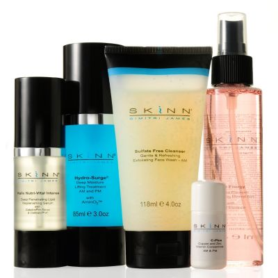 "305-405 - Skinn Cosmetics Five-Piece ""Refresh & Replenish"" Facial Set"