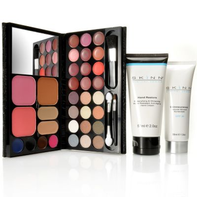 "305-410 - Skinn Cosmetics Three-Piece ""On the Go"" Beauty Essentials Kit"
