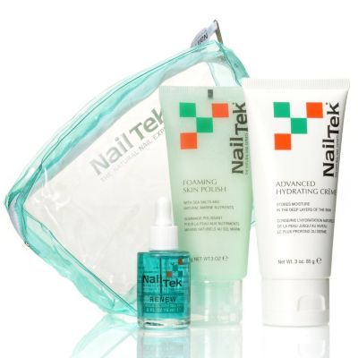 305-414 - Nail Tek Three-Piece Ant-Aging Hand Treatment Kit w/ Bag