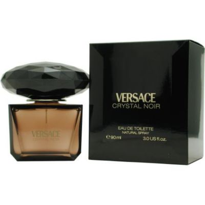 305-427 - Versace Women's Crystal Noir Eau de Toilette Spray - 3 oz