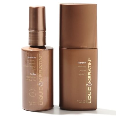 305-513 - Liquid Keratin™ Deep Conditioning Oil & Sealing Shine Serum Duo
