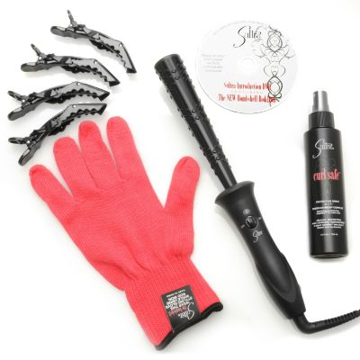 "305-554 - Sultra® Six-Piece ""The Bombshell™"" Reverse Cone Rod & Curl Safe™ Protective Spray"