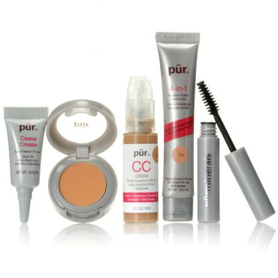 "305-766 - Pür Minerals Four-Piece Complexion ""Try Me"" Kit & Impact+ Mascara"