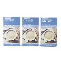 CBTL 24 Single Serve French Vanilla Latte Powder Packets