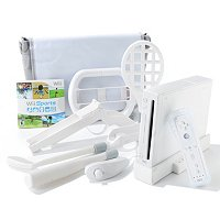 NINTENDO WII SPORTS BUNDLE W/ ACCESSORIES