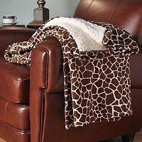 COZELLE MICRO PLUSH OVERSIZE THROW