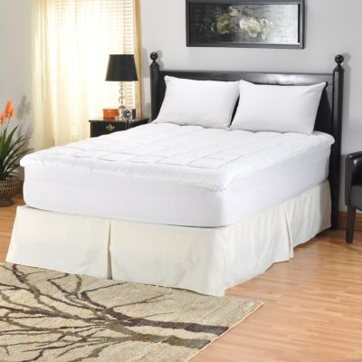 "401-239 - North Shore Linens™ 260TC Cotton Nano-Tex® 1.5"" Gusseted Mattress Topper"