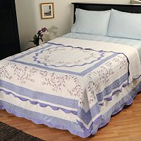 "NORTH SHORE COLLECTIBE QUILTS ""MISTY VINE"" LIMITED EDITION QUILT - TWIN"