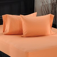 SHEERED FLANNEL PILLOW CASE PAIR