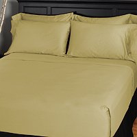 NORTH SHORE LINENS 600TC COTTON SATEEN 6PC SHEET SET