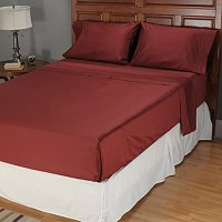 NORTH SHORE LINENS 1000TC EGYPTIAN COTTON 4PC SHEET SET