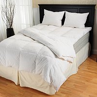 Beautiful Dreamer Feather Bed, Comforter and Pillow Set