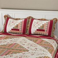 """Millbrook"" Quilted Sham Pair"