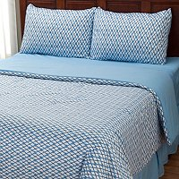 "Cozelle ""Nantucket"" Microfiber 4pc Comforter Set"