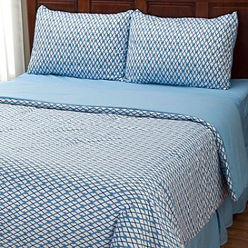 401-952 - Cozelle® ''Nantucket'' Microfiber Four-Piece Comforter Set