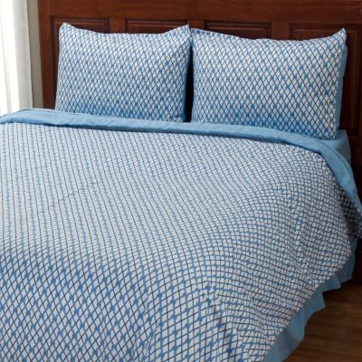 "401-953 - Cozelle® ""Nantucket"" Microfiber Three-Piece Duvet Set"