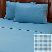 "Cozelle ""Gingham"" Microfiber 2pk 4pc Sheet Sets"