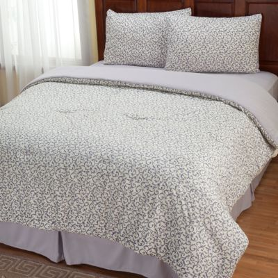 "401-963 - Cozelle™ ""Savannah"" Microfiber Four-Piece Comforter Set"