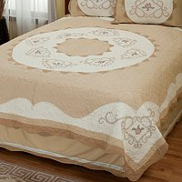 """Heather Rose"" Limited Edition Quilt - Twin"