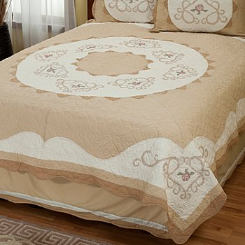 402-018 - North Shore™ Collectible Quilts ''Heather Rose'' Limited Edition Quilt - Twin Size