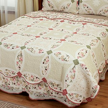 402-024 - North Shore[ ''Romance Wedding'' Limited Edition 100% Cotton Twin Quilt