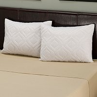 Set of 2 Quilted Clean & Fresh Pillow Protectors
