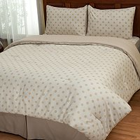"Cozelle ""Swiss Dot"" 4pc Comforter Set"