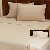 "Cozelle ""Swiss Dot"" Set of 2 4pc Sheet Sets"