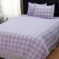 "Cozelle ""Check"" 3pc Duvet Set"