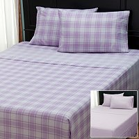 "Cozelle ""Check"" Set of 2 4pc Sheet Sets"