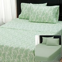 "Cozelle ""Nouveau Paisley"" Set of 2 4pc Sheet Sets"