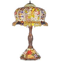 CONSTANTINE DOUBLE LIT TABLE LAMP