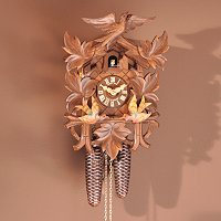 HUBERT HERR FLYING BIRD ORIGINAL BLACK FOREST CUCKOO CLOCK