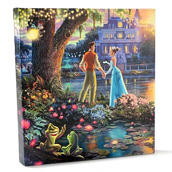 403-271 - Thomas Kinkade Disney Dreams Collection Gallery Wrapped Canvas