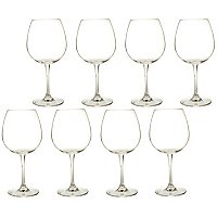 WATERFORD CRYSTAL ROBERT MONDAVI RED WINE GLASSES - SET OF EIGHT