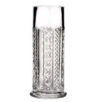 "WATERFORD CRYSTAL FLEUROLOGY AUDREY 10"" CYLINDER VASE"