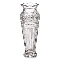 "WATERFORD CRYSTAL JOL 9"" ANNIVERSARY VASE SIGNED BY JIM O LEARY"