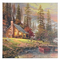 """PEACEFUL RETREAT"" GALLERY WRAPPED CANVAS"