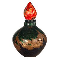Favrile Art Glass Perfume Bottle