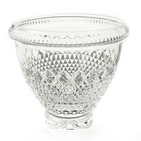 Waterford Crystal Castle Nore Prestige Centerpiece Bowl Signed by Jorge Perez