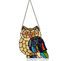 """Hoot"" Owl Window Panel"