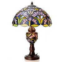 Blooming Lotus Double Lit Table Lamp